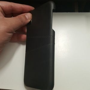 """unbranded Accessories - Case card holder for iphone xs max 6.5"""" black new"""